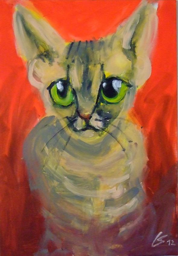 K.Lomas-Junge Katze-mh-kl