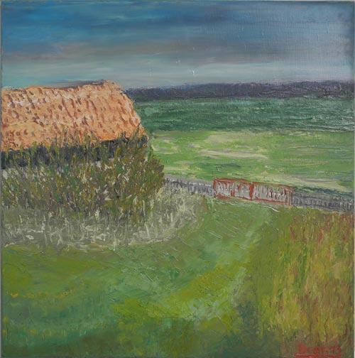 2013.Grundstück,50x50,cm,oel-leinw