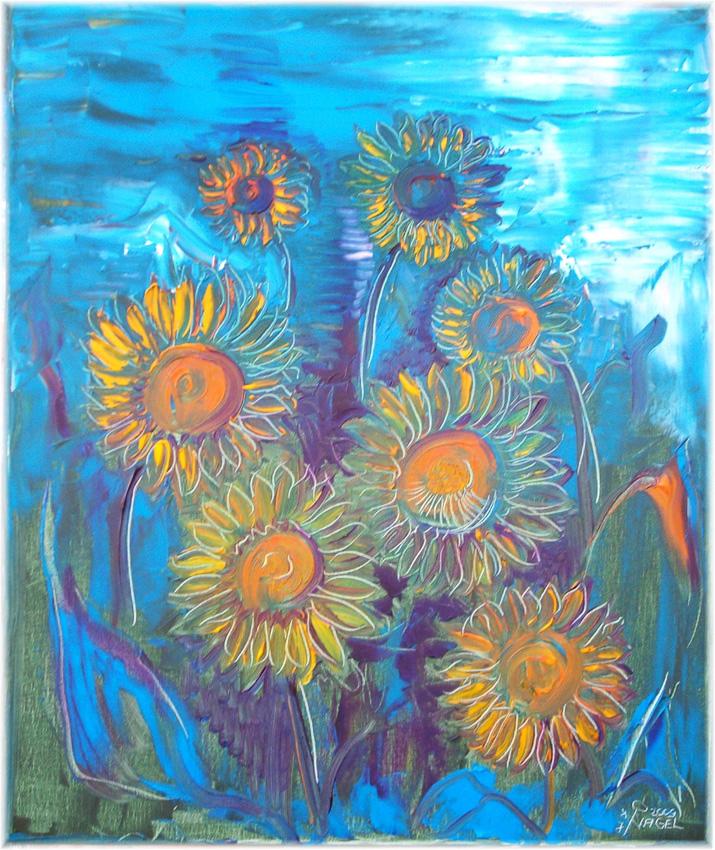 Jens-Nagel-Einige-Sonnenblumen
