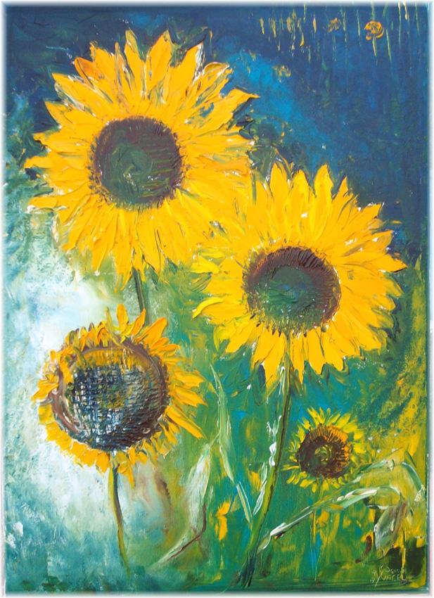 Jens-Nagel-Vier-Sonnenblumen