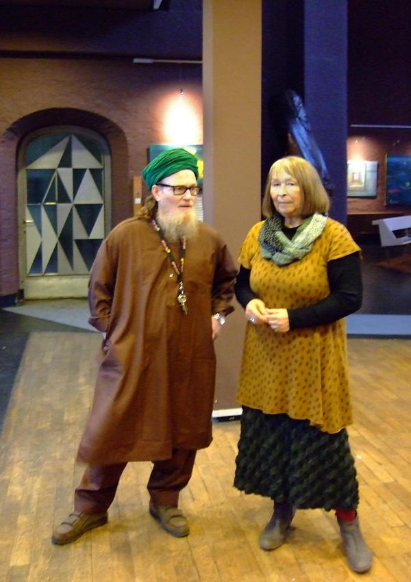Epiphanien-Gudrun und Sufi Hussein