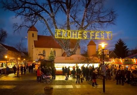 Weihnachtsmarkt in Rheinsberg