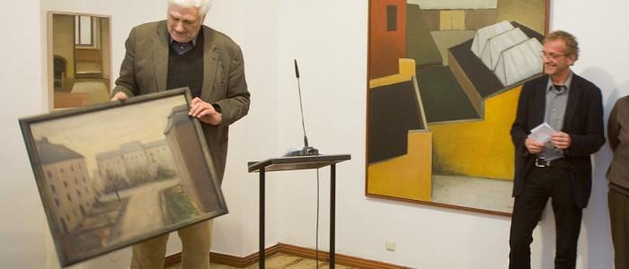 NORD-OST | Hans-Otto Schmidt im Tucholsky Literaturmuseum