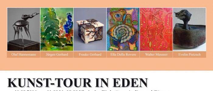Kunst-Tour in Eden