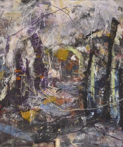 Anja Kuehnrich-Wilke, 11, 2009 Acryl auf Leinwand, 100 x 80 cm