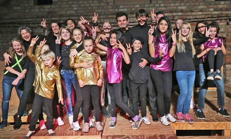 Quillo Musiktheaterprojekt mit Kindern aus der Uckermark3