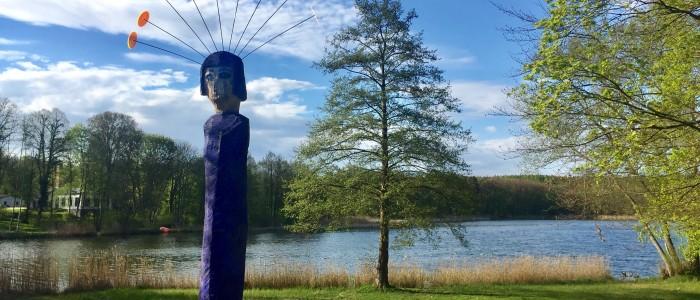 Skulpturen-Rundwanderweg in Neuglobsow