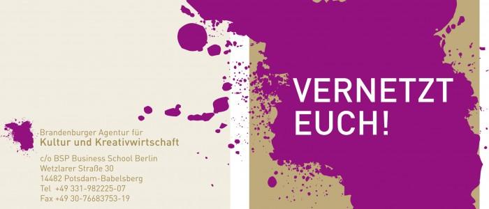 Vernetzt Euch – Brandenburger Agentur für Kultur und Kreativwirtschaft