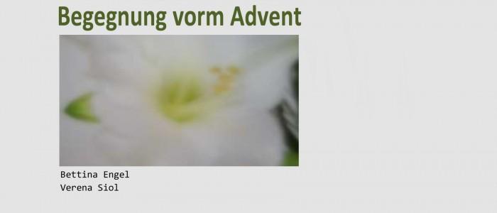 Begegnungen vorm Advent