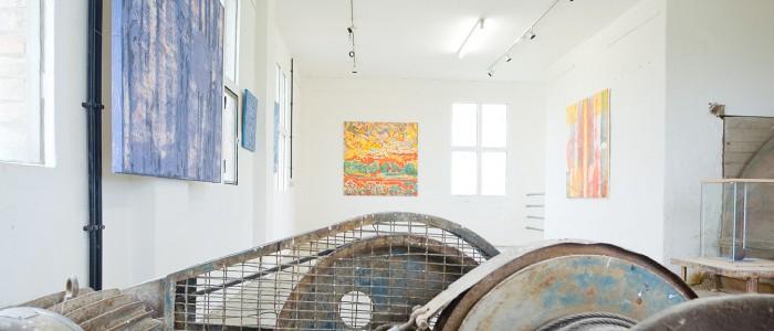 Ausstellungseröffnung in der Kugelmühle / Ziegeleipark